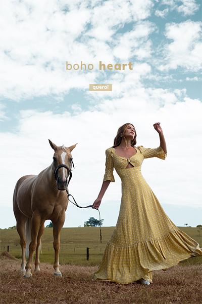 boho heart